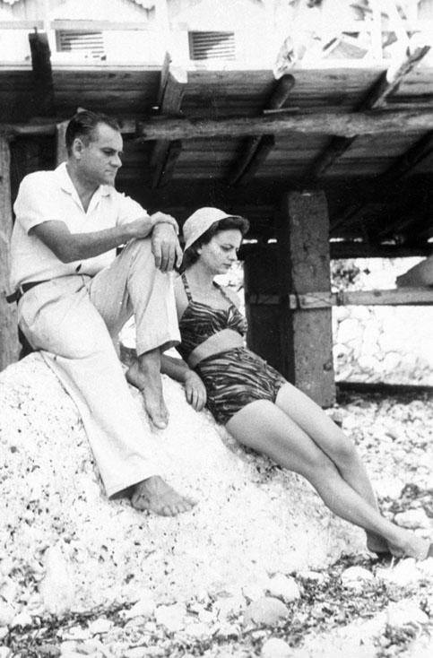 Elsa Morante and Alberto Moravia