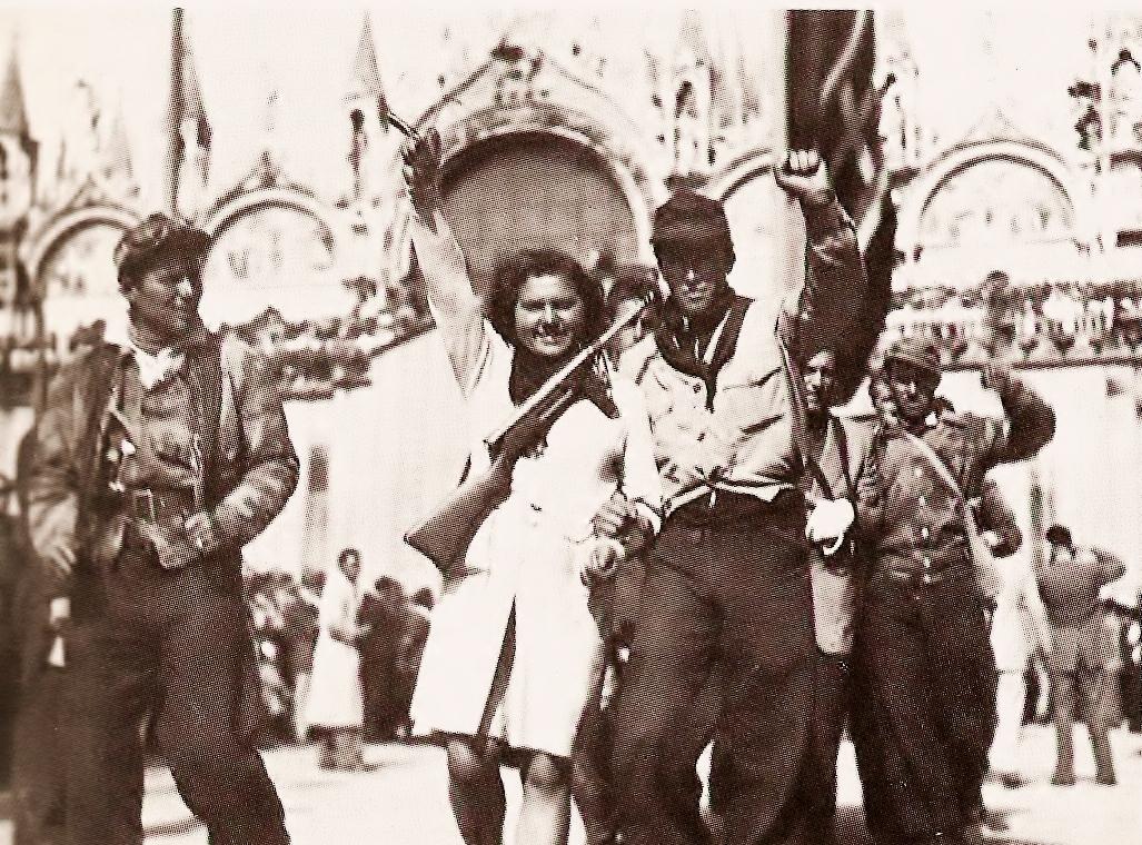 Partisans Venice 1945