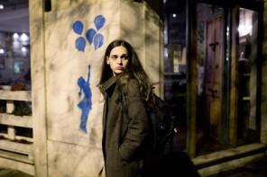 Sara Serraiocco, a 'worldly girl'